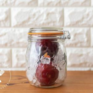 美しい赤いシロップ♪プラム(すもも)のシロップのレシピ・作り方