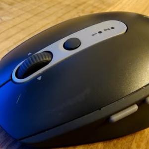 静音性マウスで集中力アップ!「ロジクール M590」