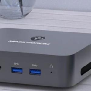 第10世代Core i3搭載の手のひらサイズPC 「MINISFORUM X35G」 レビュー。
