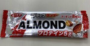 ブラックサンダー ALMOND プロテイン