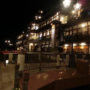 138 飯坂&銀山温泉旅行★最終部:夜の銀山温泉と蔵王