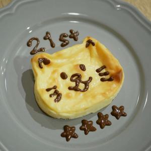BUMPお祝いチーズケーキ♪