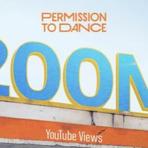 BTS「Permission to Dance」MV再生回数2億ビュー突破!