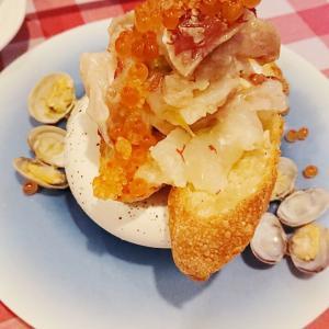 【梅田】デートや女子会に☆海鮮ブルスケッタがおいしい「イタリア酒場エントラータ」