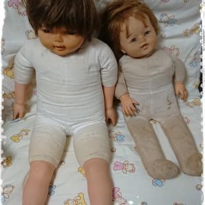 昭和レトロなベビー人形