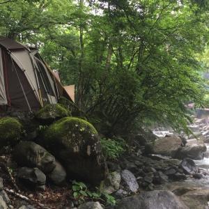 道志の森キャンプ場レポート!今日の天気は雨模様
