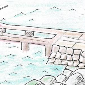 昭和の想い出絵日記【タコ獲り】