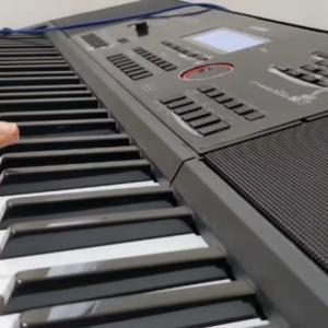 オリジナル曲『雪降る夜』ピアノ弾いてみた