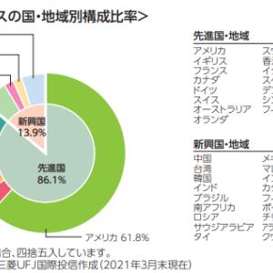 【投信】eMAXIS Slim 全世界株式(除く日本)を選ぶ3つの理由