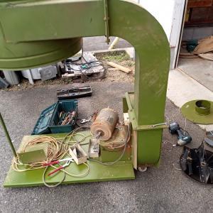 集塵機のモーター交換