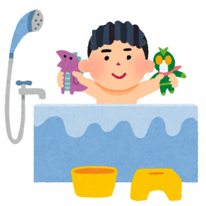波乱[お風呂の話]0~4歳