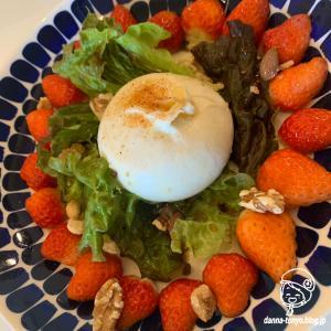 トロ~リ!ブッラータとイチゴのサラダ