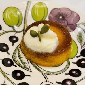 【糖質7g】濃厚でめっちゃうまい!焦がしキャラメル風味のかぼちゃプリン