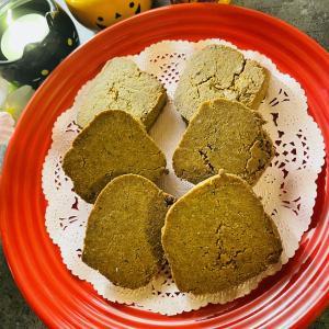 【糖質1.4g】バクバク食べてもオッケー♪おからきな粉クッキー