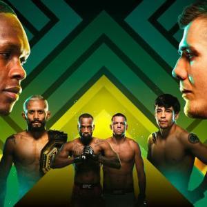 イズラエル・アデサニヤ VS  マービン・ヴェットーリ【UFC263】アデサニヤの打撃が光る!!