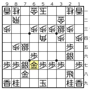 角換わり棒銀対△5四角ー▲5八金の変化③