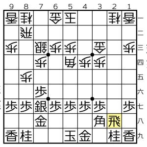 角換わり棒銀対△5四角ー▲3八角の変化⑤