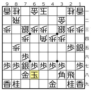 角換わり棒銀対△5四角ー▲3八角の変化⑦
