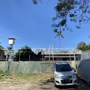 TARUWARA小学校 工事中②