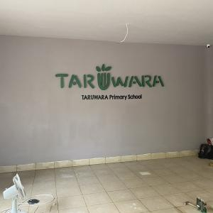 Taruwara小学校工事中⑤ ほぼ出来上がった~!!!!!!