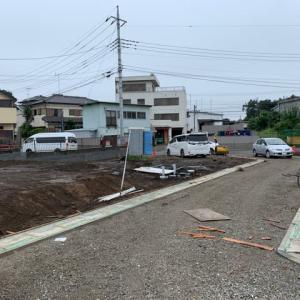 上尾市平塚の進捗状況