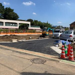 さいたま市桜区大久保領家の造成工事進捗状況