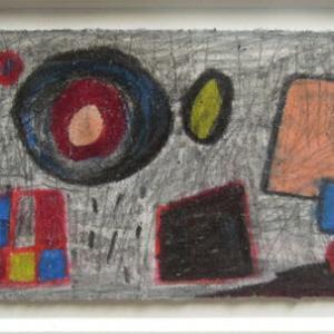 梅雨の曇り空(色鉛筆作品609)と シヴ・クマール・シャルマのインド音楽から