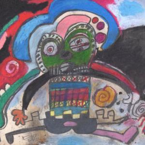 終わりのない遊戯(色鉛筆作品紹介608)と ヒロクニさんの男の色気