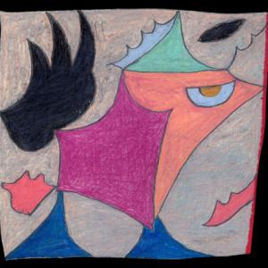 土、花、風(色鉛筆作品・紹介634)と ショック療法