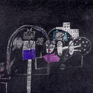 静かな夜(作品紹介639)と ケチャップとサンドウィッチ