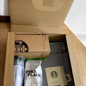 Starbucks 25th Greener Coffee Set当選しました🎉
