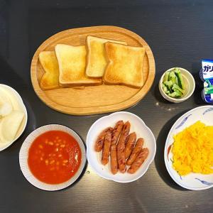 休日の朝ご飯🍳