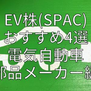 EV株(SPAC)おすすめ4選 電気自動車部品メーカー編