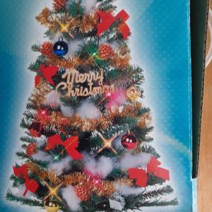 クリスマスツリーはもう飾らない