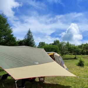 久しぶりにキャンプです。来てよかった!!