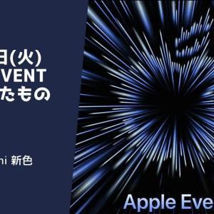 まとめ:Appleイベント(2021/10/19)で発表された製品