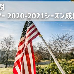 【松山英樹】PGAツアー2020-2021シーズン成績まとめ