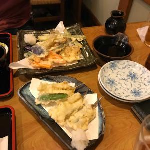 大阪は泉州名物、がっちょの唐揚げならぬ天ぷら