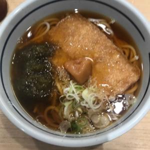 東京の立喰蕎麦屋のきつねうどんについて思う事