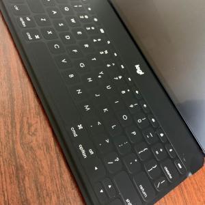 【レビュー】iPad・iPhone専用のLogicool製BluetoothキーボードKEYS-TO-GOで文字入力を快適に!