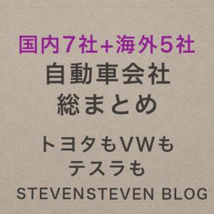 【半導体不足で大打撃】自動車会社株価 国内7社・海外5社比較【がんばれニッポン】