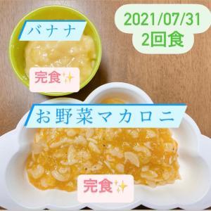7/31 離乳食②