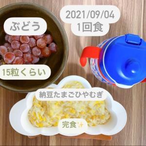 【165日目】離乳食記録