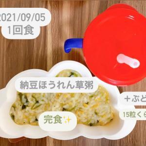 【166日目】離乳食記録