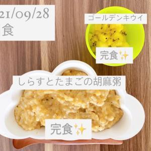 【189日目】離乳食記録