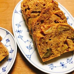 卵なし!乳製品なし!和素材ケーキ!むき甘栗使用で簡単にできる「ヘルシオで作る和栗ケーキ」