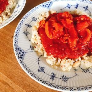 低温じっくり加熱で甘味最高に!シンプルに究める!「ヘルシオで作る低温ローストトマト」