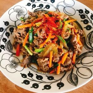 バズレシピ再現!漬け込み時間なし、タレと肉をもみ込んでホットクックのボタン押すだけ「ホットクックで作る至高のプルコギ」