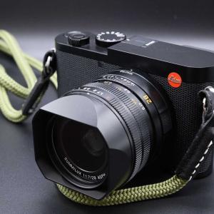 Leica Q2の外見が一番好きポイントかも