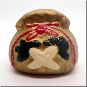 貯金玉(今戸焼製):待乳山聖天